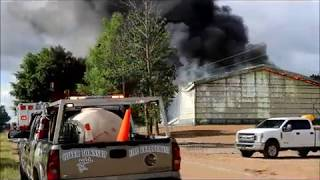 Shed Fire on Maxwell Road July 13, 2020