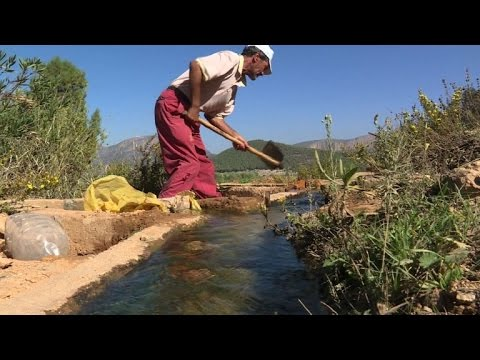 Turning sun into water in parched rural Morocco