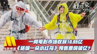 一周电影市场收获10.95亿 《送你一朵小红花》预售票房破亿【中国电影报道 20201229】 - YouTube
