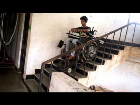 Design and Development of Electric Powered Stair-Climbing Wheelchair for Paraplegics