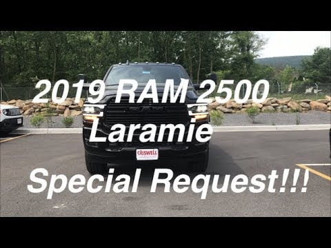 2019 RAM 2500 Laramie HD - Black Appearance and a Cummins!!!