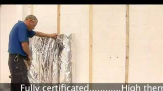 How To Insulate Walls With Superquilt To Save On Space, Insulation Fitting Time And Cost