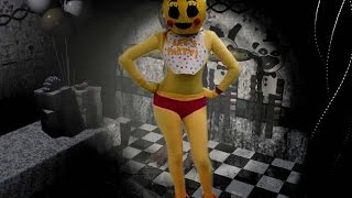 Toy Chica y Ballon Boy en la TNT Navideña 2015 Domingo