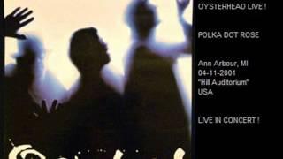 STEWART COPELAND with OYSTERHEAD - Polka Dot Rose (Ann Arbour,MI 04-11-01 USA)