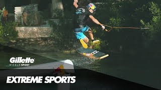 Wakeskating Freeride with Brian Grubb | Gillette World Sport