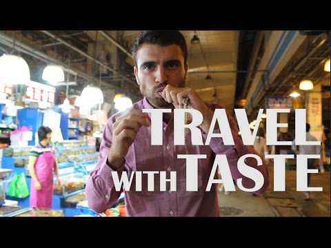 Travel with taste: food from 46 countries