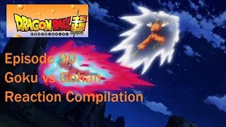 Dragon Ball Super Episode 90 GOHAN VS GOKU REACTION COMPILATION