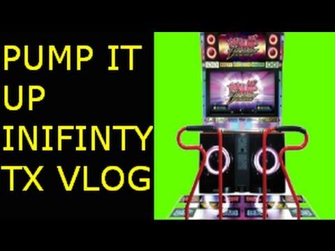 Pump it up infinity TX Cabinet Machine / Museca Round 1 Arcade Stonecrest  Mall Lithonia GA