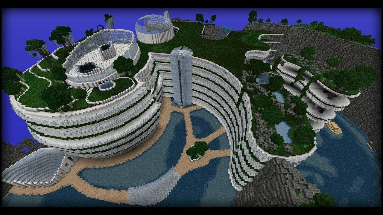 Maison moderne minecraft remix avicii youtube for Construction de maison sur minecraft