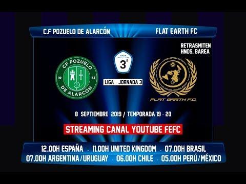En Directo: CF Pozuelo de Alarcón - Flat Earth FC thumbnail