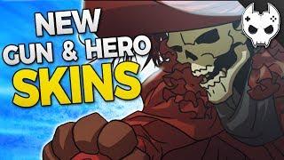 Overwatch - NEW WEAPON SKINS!? + REAPER LEGENDARY