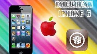 Как сделать Jailbreak IPhone 5