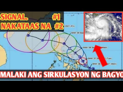 Bagyong Jolina Update Today September 6,2021p.m|Weather Update|Pagasa Forecast |#JolinaPH