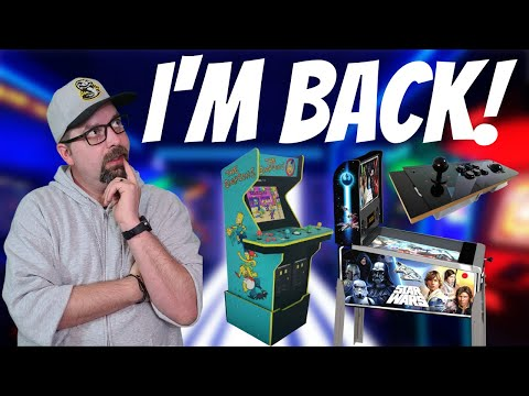 Where are the Arcade Products? Latest E3 2021 Plans for Arcade1Up, Unico, iiRcade, AtGames from PDubs Arcade Loft