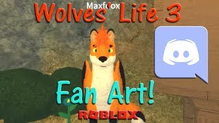 Roblox - Wolves' Life 3 - Fan Art! #1 - HD