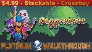Daggerhood Platinum Walkthrough | Trophy & Achievement Guide | Crossbuy - Stackable - Easy - Fast