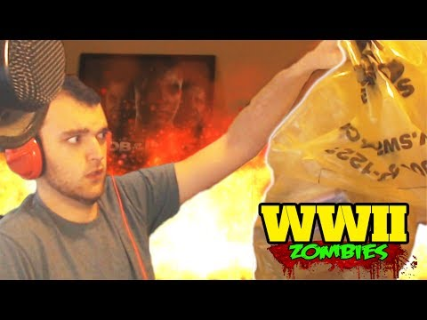 SECRET WW2 ZOMBIES PACKAGE LIVE UNBOXING!!!! (Call of Duty WW2 Zombies)