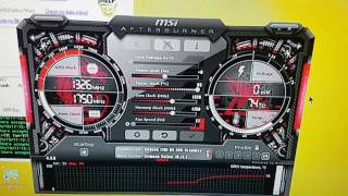 Use msi afterburner to reduce electricity costs whilst GPU mining (undervolting)