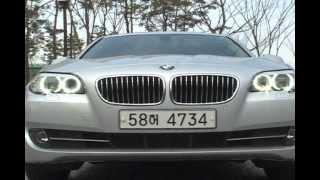 BMW 528i 동영상 시승기, Visual Test …