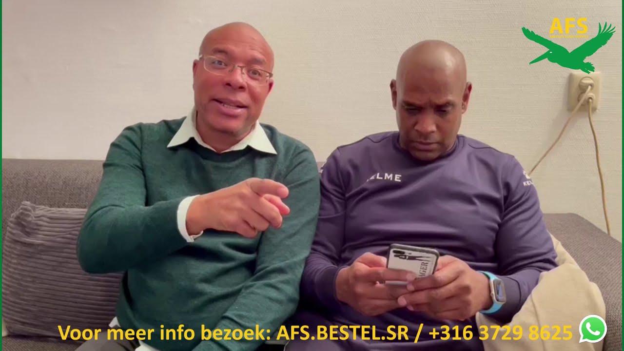 Deng Boys sturen geen pakketten meer naar Suriname. AFS