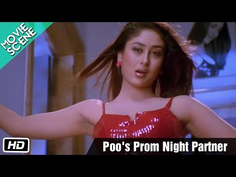 Poo's Prom Night Partner - Movie Scene - Kabhi Khushi Kabhie Gham - Kareena Kapoor, Hrithik Roshan