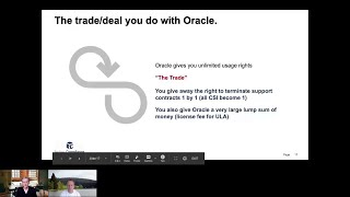 What is Oracle hidden agenda by offering your company an Oracle ULA