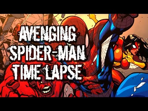 How To Color Comic Books! Avenging Spidey