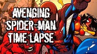 How I Color Comics! Tutorial: Avenging Spidey