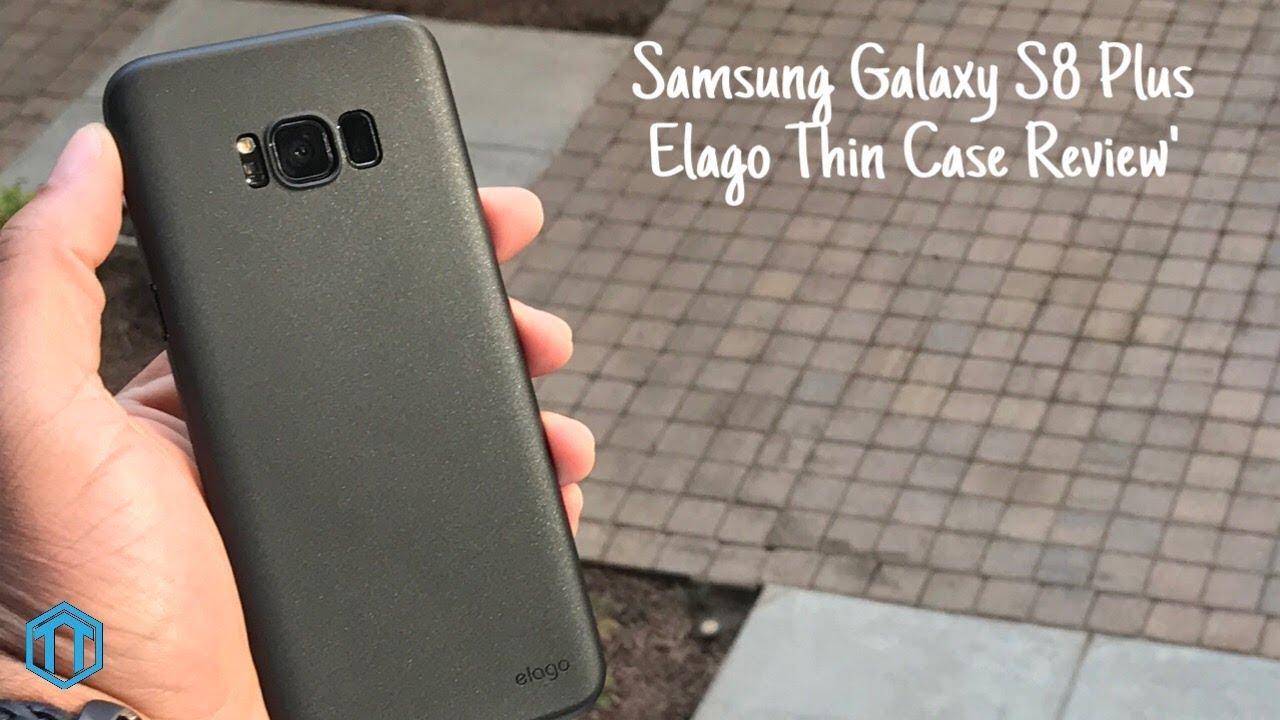 timeless design e69e1 d527f Samsung Galaxy S8+ Elago Thin Case Review!