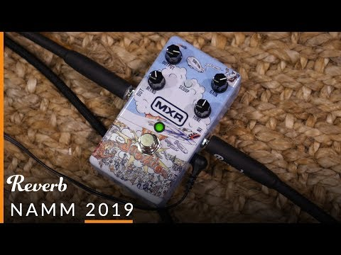 MXR Dookie Drive Green Day Pedal At NAMM 2019 | Reverb