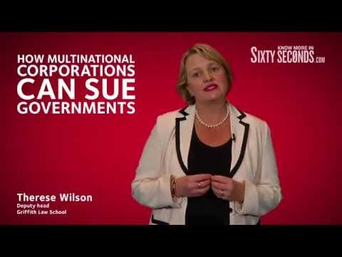 How multinational corporations can sue governments