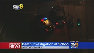 Law Enforcement Officer Found Dead On Hollywood Hills Elementary School Campus, LAPD Investigating