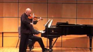 Prokofiev  Sonata Opus 80 - Elmar Oliveira - violin, Robert Koenig - piano, part 1 of 4
