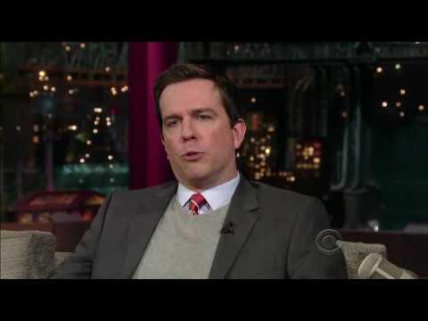 David Letterman - Ed Helms does Tom Brokaw (2009-05-21)