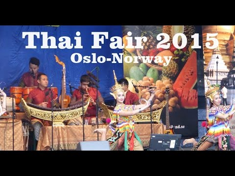 Thai Fair 2015 Oslo Norway