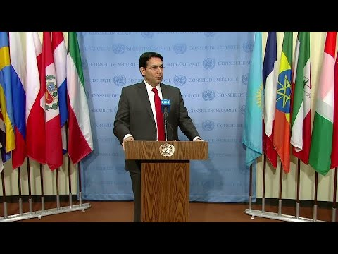 Danny Danon (Israel) on the Middle East - Media Stakeout (20 February 2018)