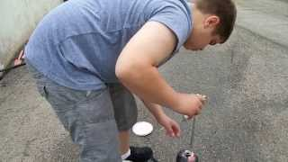 How To Graffiti With a Fire Extinguisher