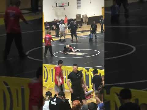 Wrestling pt 5 Jasimen Ortega Middle School