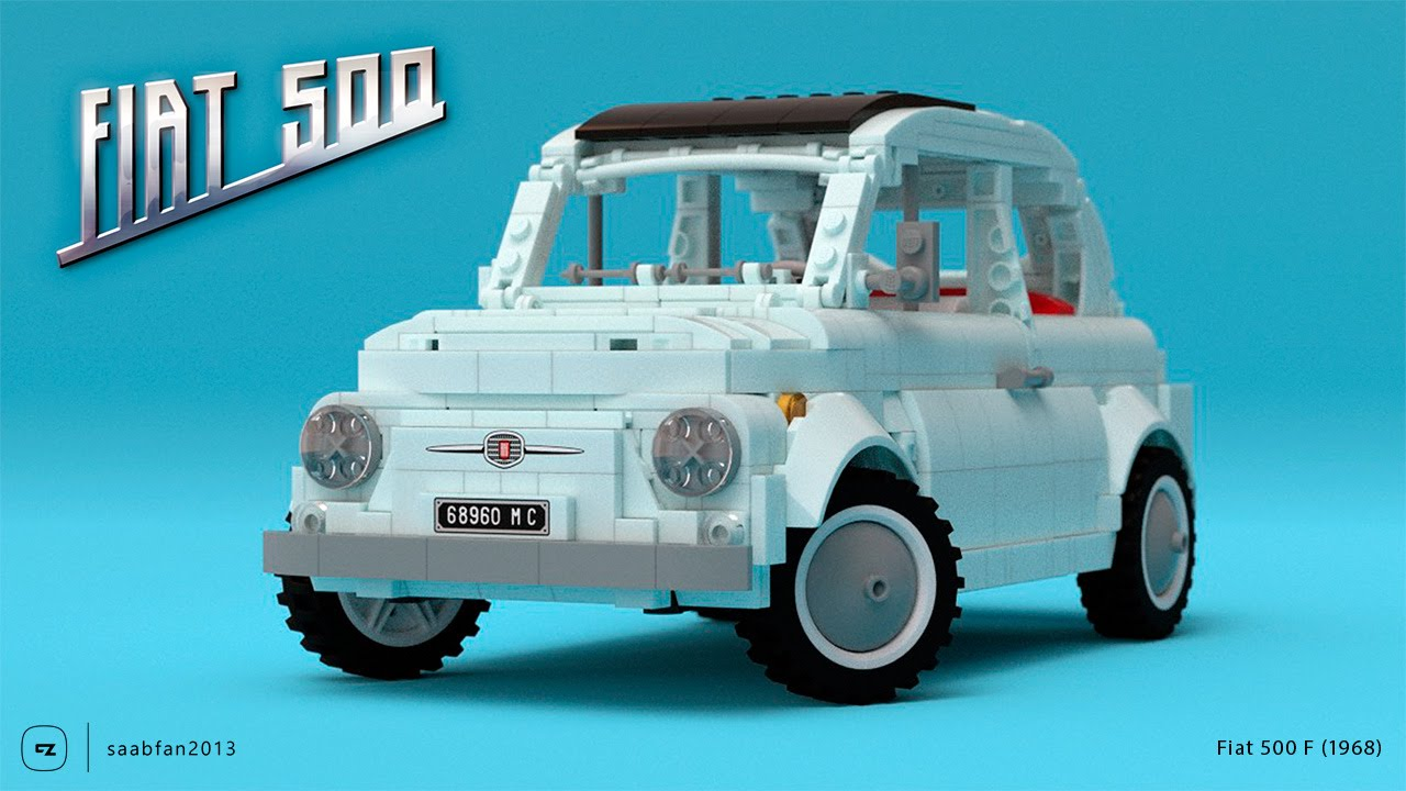 The Lego Fiat 500 Has All Of The Italian Charm Of The Original