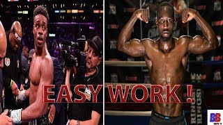 TERENCE CRAWFORD HAS MESSAGE FOR ERROL SPENCE FANS ! I'M GONNA MAKE HIM LOOK ORDINARY, NO EXCUSES