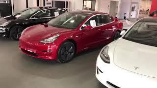 Tesla Model 3 - I saw 5 today!