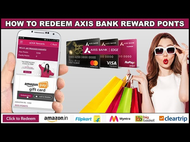 how to use axis bank gift card