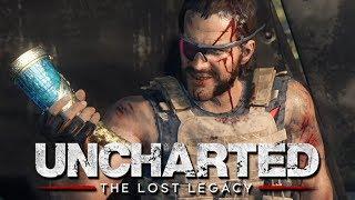 БИТВА С БОССОМ - ВЕРТОЛЕТ! - Uncharted: The Lost Legacy #6