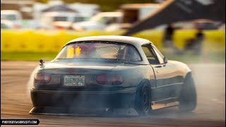 homepage tile video photo for The LS Miata Is Finally DIALED! Some Epic Runs! (Lots of Close Calls!)