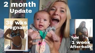 TEEN MOM 2 MONTH BABY UPDATE // POST-PREGNANCY BODY
