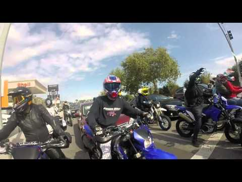 Internation Supermoto Ride Day - San Diego to Malibu