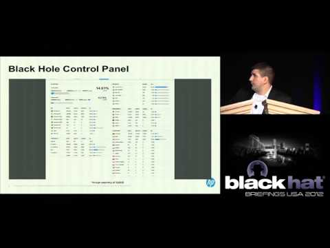 Black Hat USA 2012 - State of Web Exploit Toolkits