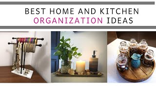 Best Home And Kitchen Organization Ideas | 10 Best Organizers For Home Kitchen And Decor