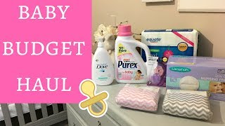 BUDGET BABY HAUL | Essentials from Walmart and Amazon