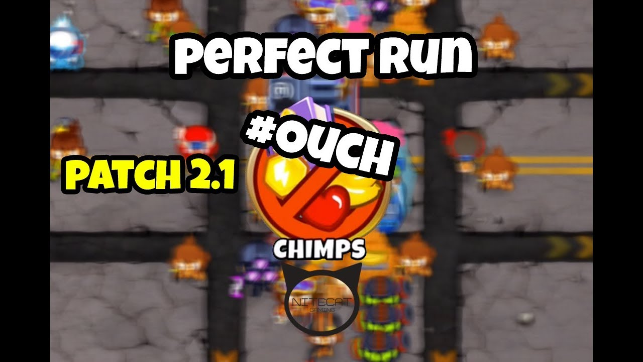 Bloons TD6 #OUCH CHIMPS Mode Perfect Run - Nitecat Gaming